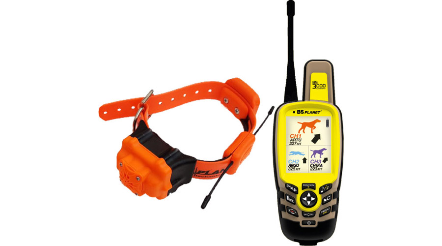 BS Planet BS3000 Evo Map Plus&strong Radio-Collare BS603 Elite